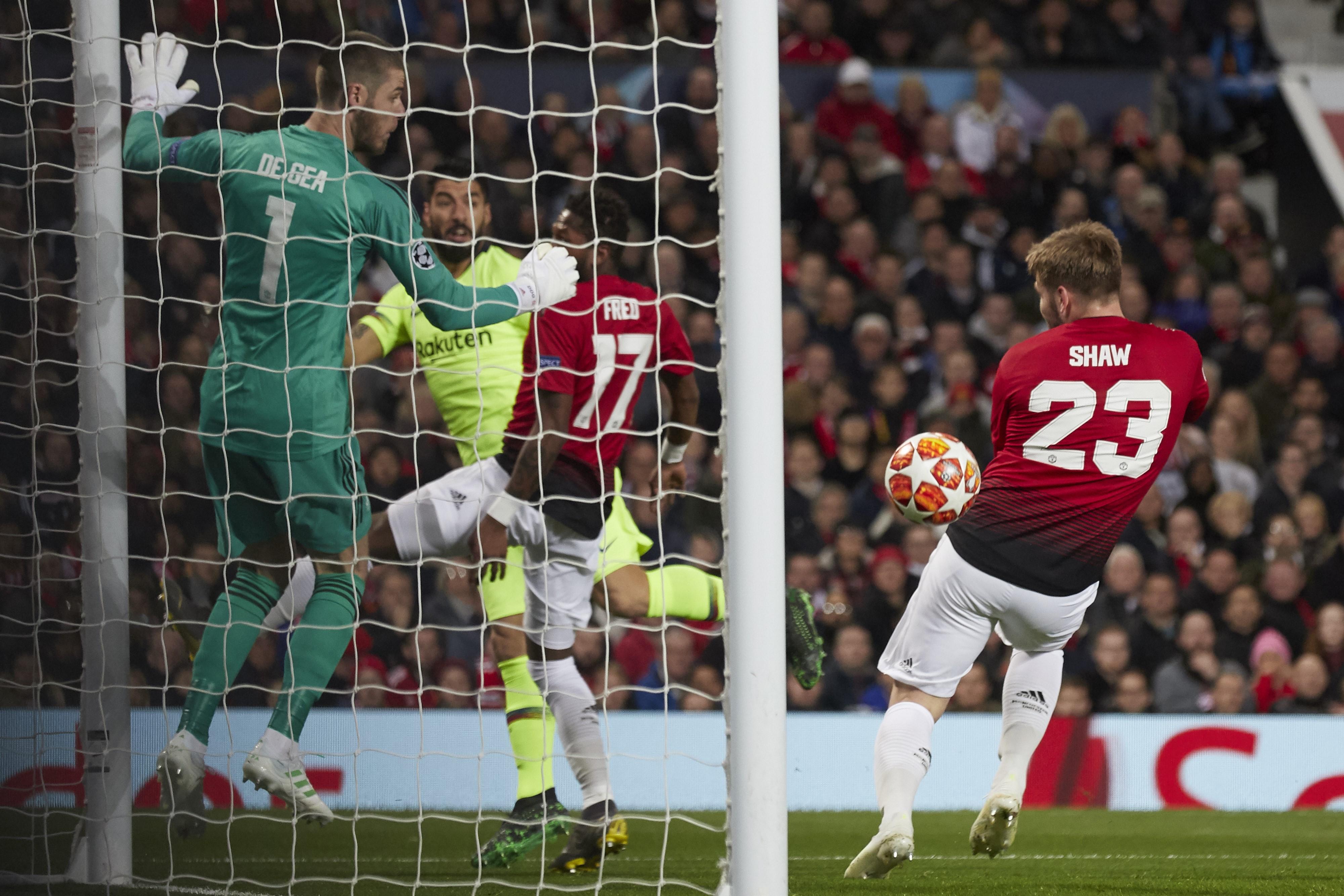 Luke Shaw - Manchester United vs. FC Barcelona