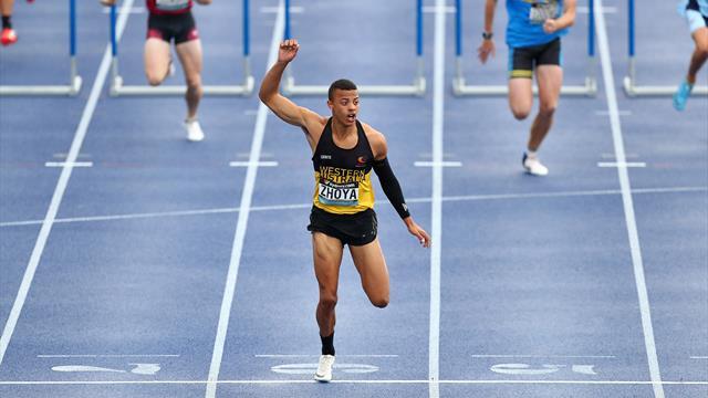 12''87 :  Zhoya explose le record du monde cadet du 110 m haies