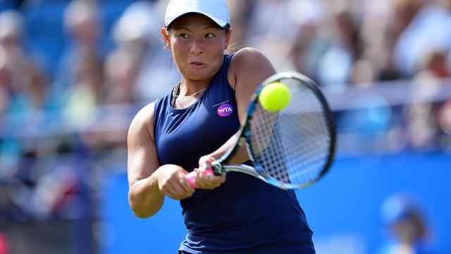 Tennis: Britin Moore gelingt Sensationscomeback