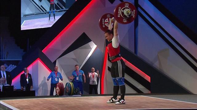 Наумова принесла Белоруссии золото ЧЕ в категории до 76 кг