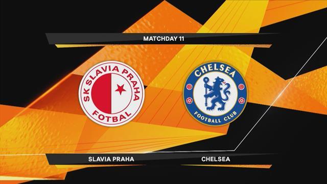 Höjdpunkter : Slavia Praha - Chelsea