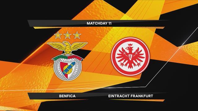 Höjdpunkter : Benfica - Frankfurt