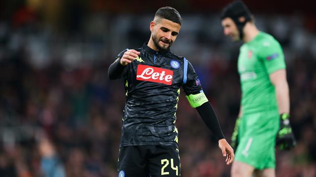 Napoli-Arsenal: probabili formazioni e statistiche