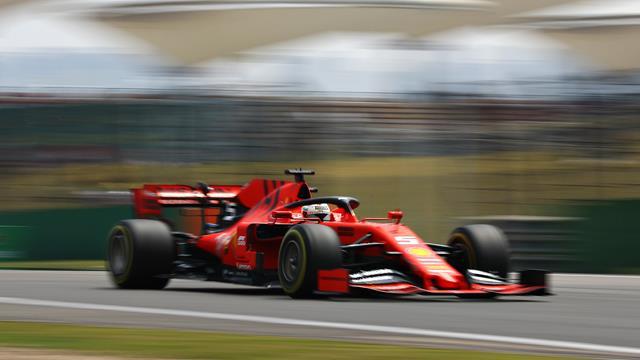 Vettel surpris par le rythme de Mercedes
