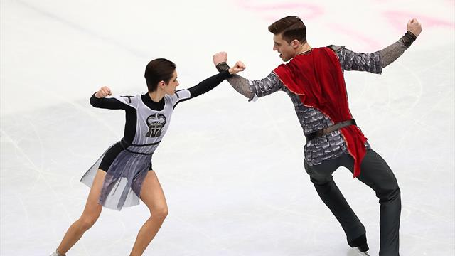 Забияко и Энберт выиграли короткую программу, Россия сократила отставание от США и Японии