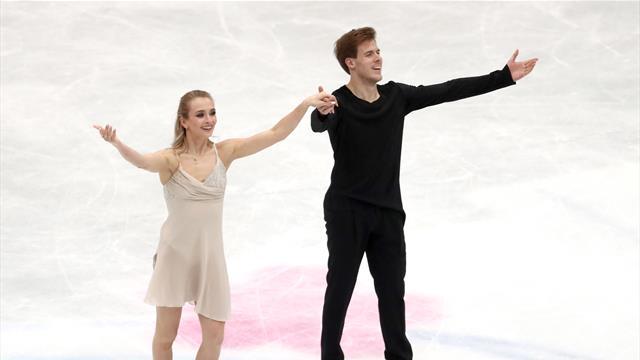 Синицина и Кацалапов снова проиграли только французам и вплотную подтащили Россию ко второму месту