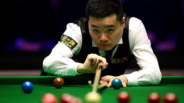 China off to flyer at Snooker World Cup, England squeak win