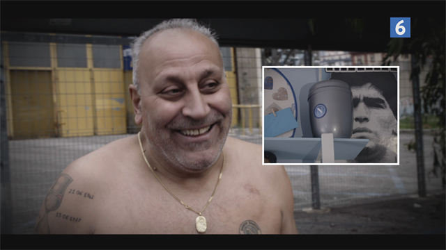 Mød passioneret Luciano: Napolitansk hundekurv, urne og tatoveringer