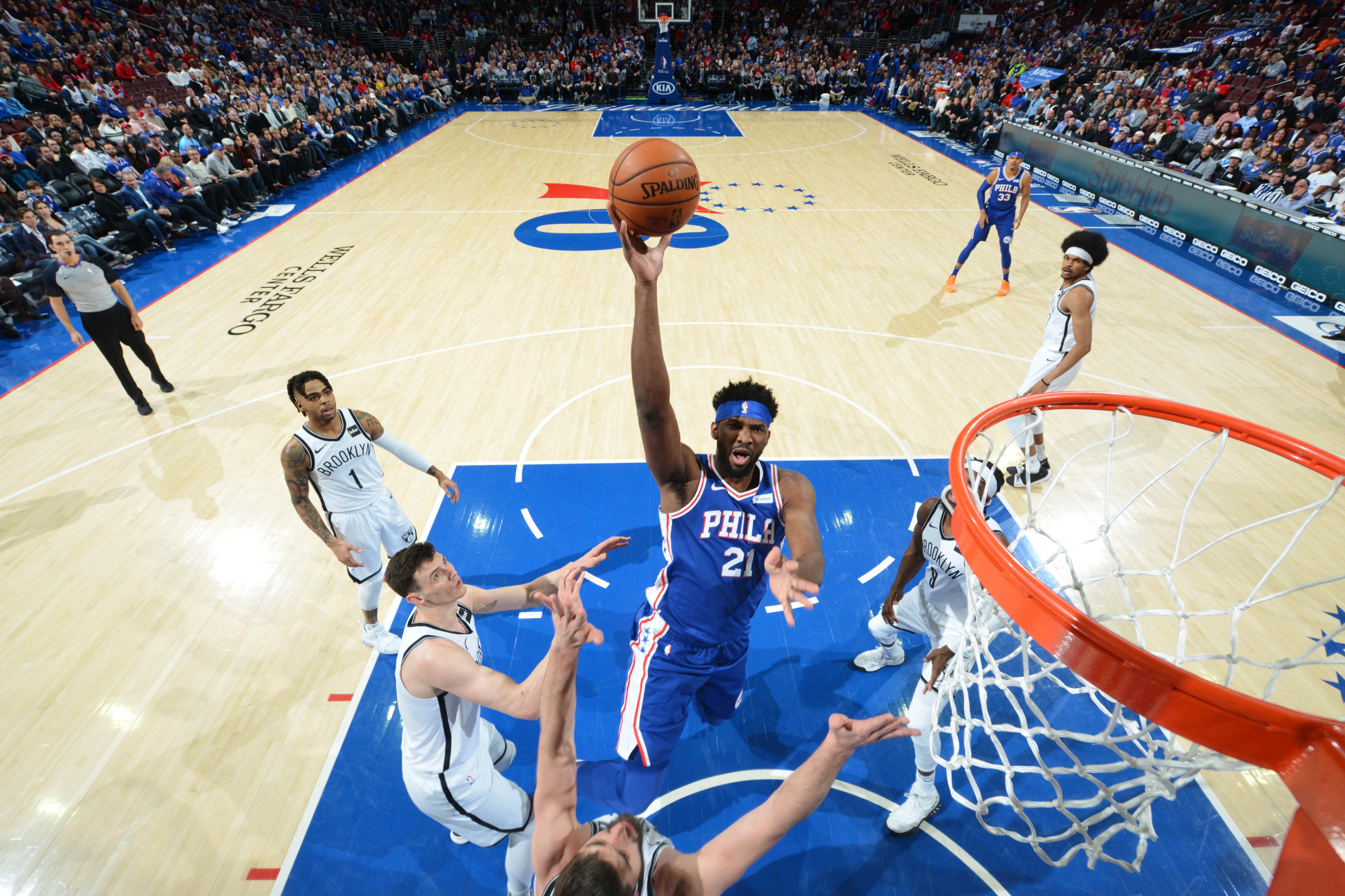 Joel Embiid (Philadelphia 76ers) vs Brooklyn Nets
