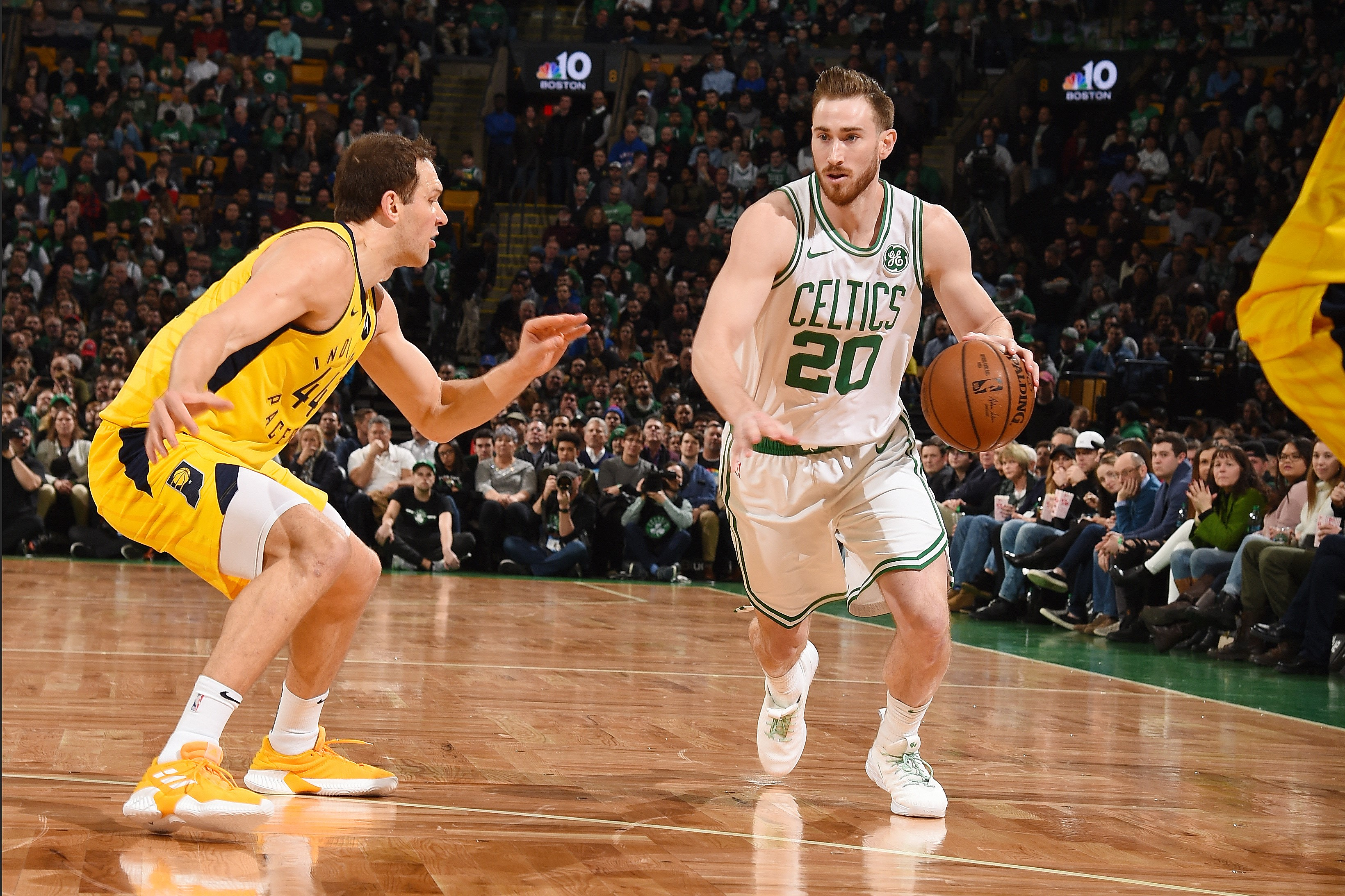 Gordon Hayward (Boston Celtics) vs Bojan Bogdanovic (Indiana Pacers)