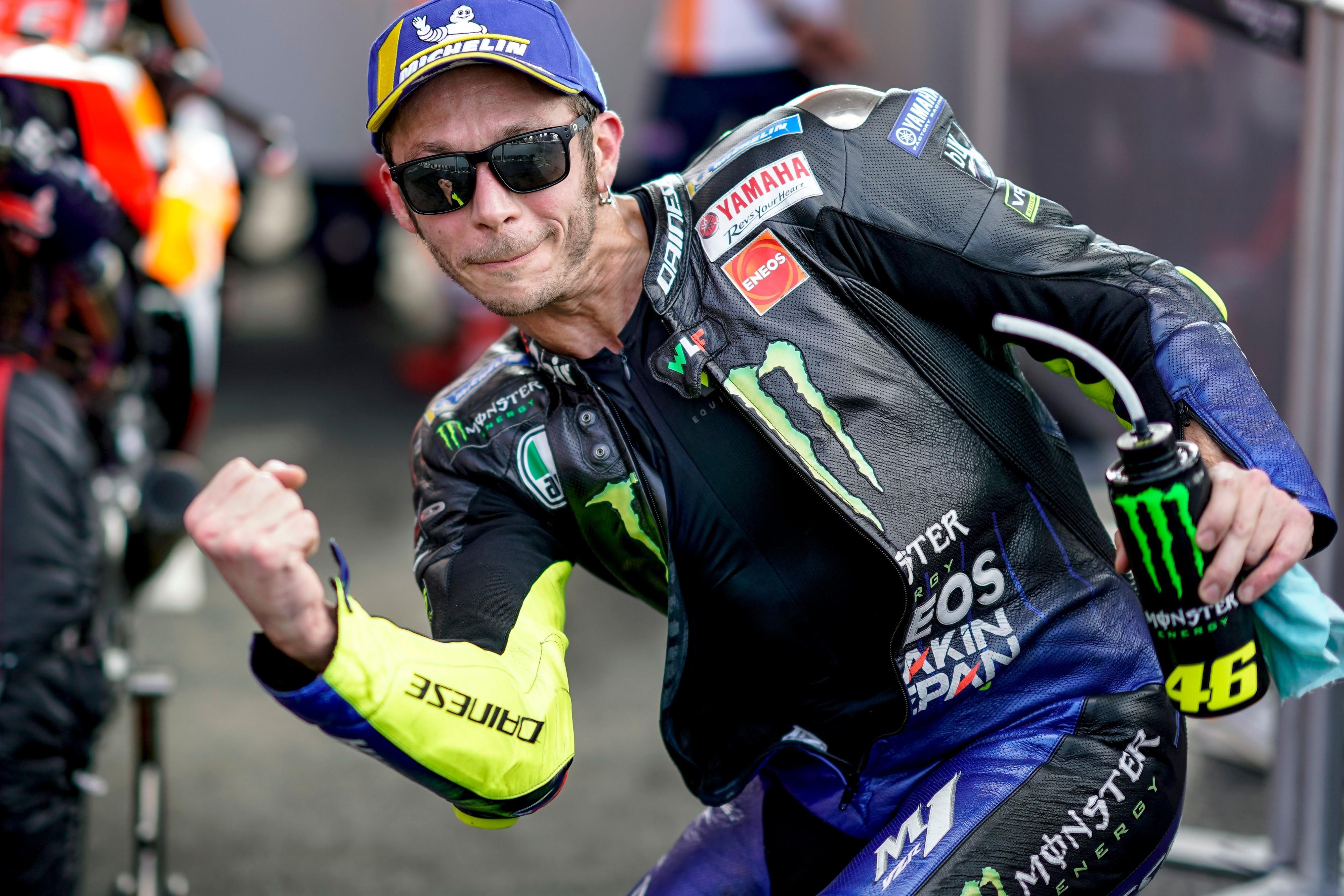 Valentino Rossi (Yamaha Factory) au Grand Prix d'Argentine 2019