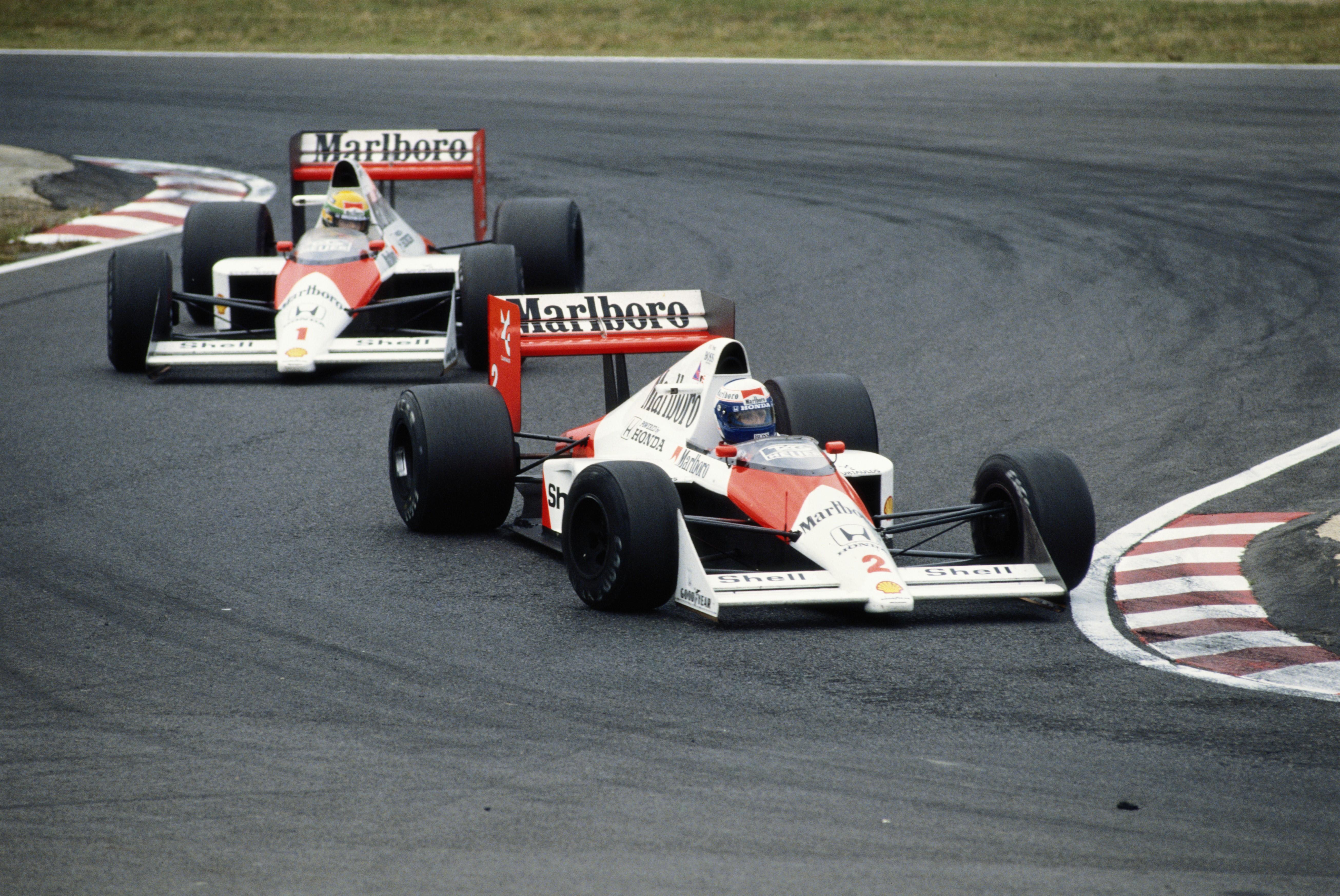 Alain Prost ve Ayrton Senna