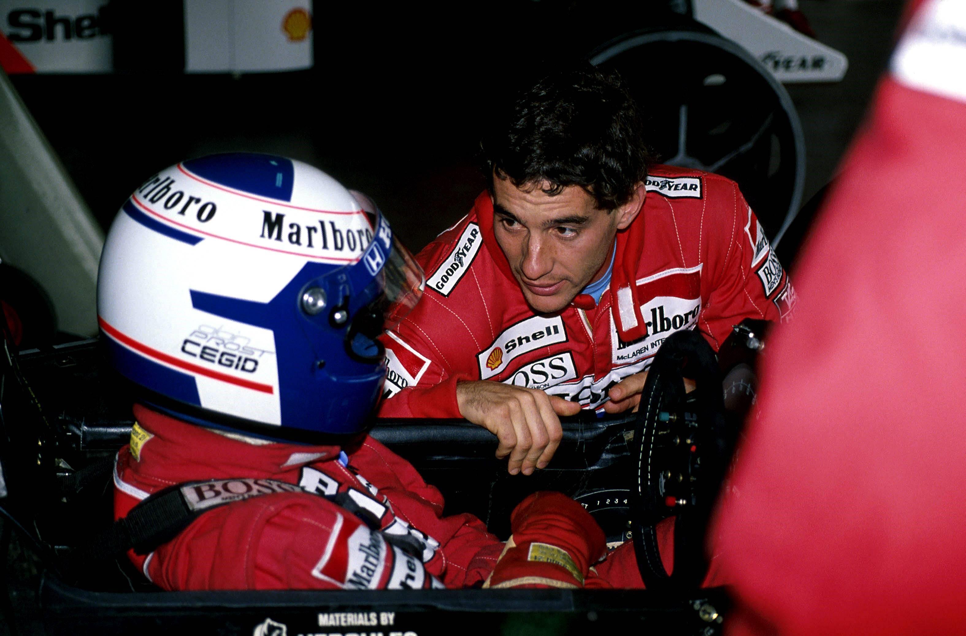 Alain Prost, Ayrton Senna - 1989 Monako GP
