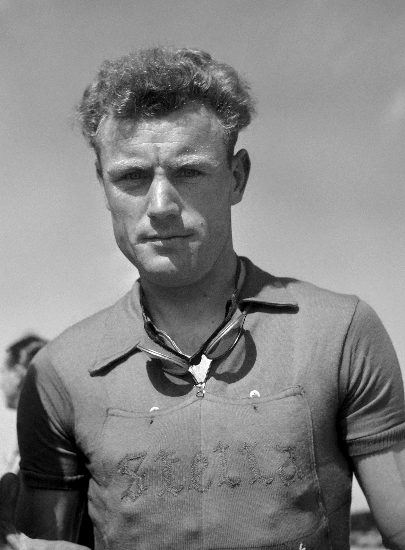 André Mahé, winner of Paris-Roubaix in 1949