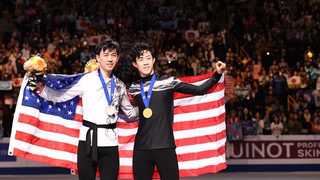 Чен и Жоу выиграли произвольную и подтащили США к золоту командного чемпионата мира