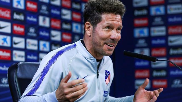 """Simeone: """"Necesitamos a Griezmann, es importantísimo para el futuro del club"""""""