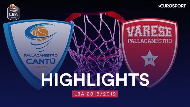 Highlights: Acqua S.Bernardo Cantù-Openjobmetis Varese 84-75