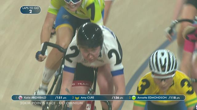 Imperious Katie Archibald takes Omnium glory at Six Day Brisbane