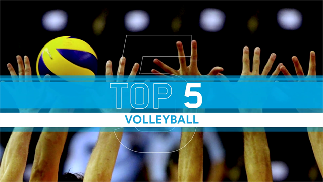 Top 5 Points from the Volleyball Champions League semi-finals
