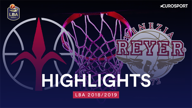 Highlights: Alma Trieste-Umana Reyer Venezia 104-85