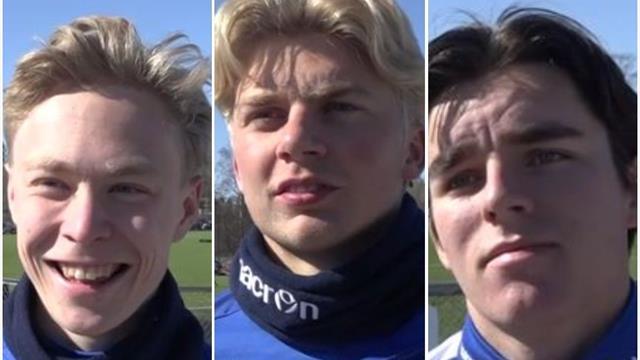 Stabæks U20-trio om hverandre: Derfor skal vi til VM