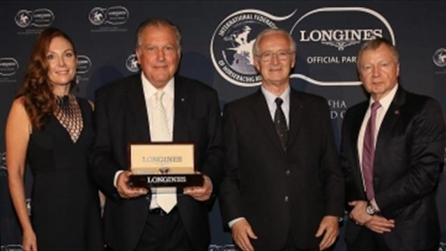 John Messara gana el Longines and IFHA Awards Of Merit