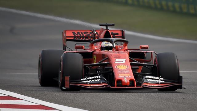 Vettel erneut knapp hinter Bottas