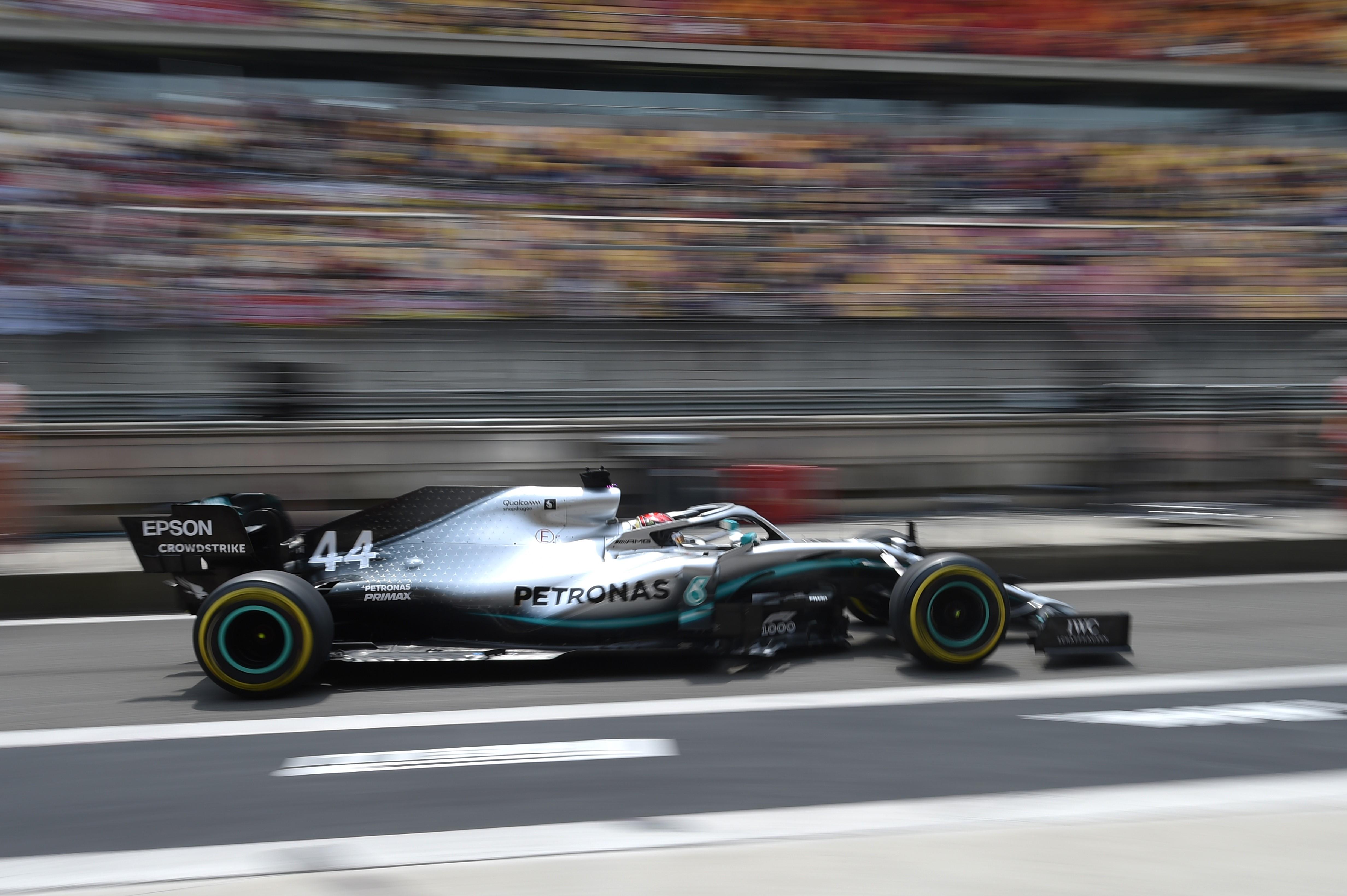 Lewis Hamilton (Mercedes) au Grand Prix de Chine 2019