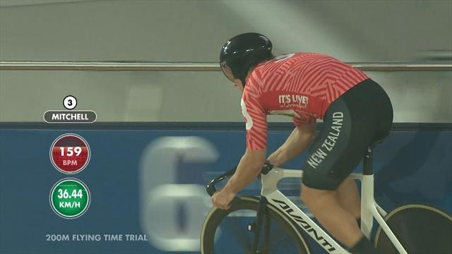 Six Day Brisbane: 200m flying time trial