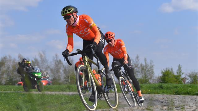 Van Avermaet 'happy' with form as he targets second Paris-Roubaix