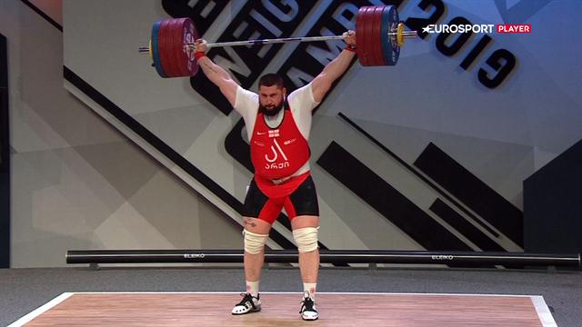 Ny verdensrekord! Georgiske Lasha Talakhadze smadrer verdensrekorden på hjemmebane