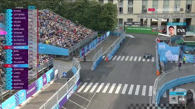 Mitch Evans trionfa a Roma: primo successo in Formula E per il Team Jaguar
