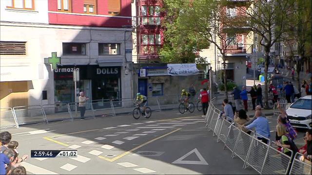 Vuelta al País Vasco 2019: Chapuza con final feliz para Buchmann, se equivocó pero subirá al podio