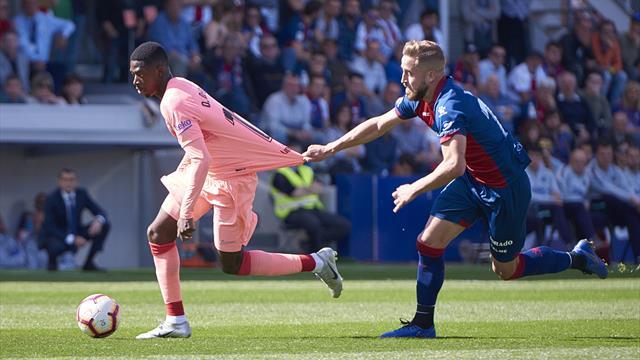 Le Barça bis accroché à Huesca