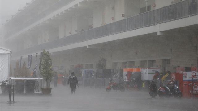 Bad weather hits MotoGP in Austin