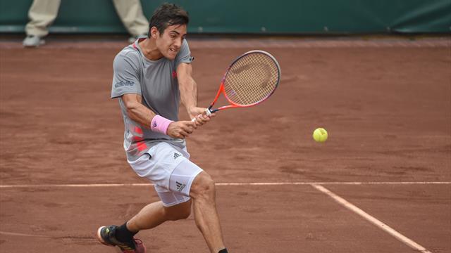 Garin décroche un deuxième titre et arrivera lancé à Roland-Garros