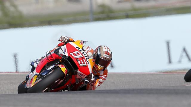 Marquez on pole in Austin for seventh year in a row