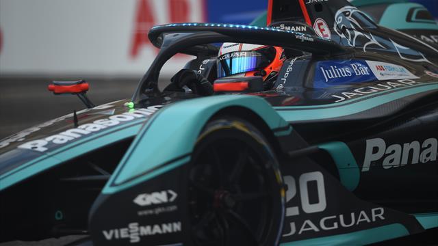 Evans offre à Jaguar sa première victoire