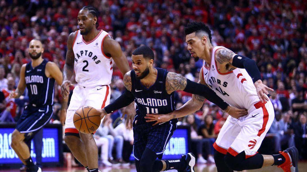 170b40ab3e1d5 NBA : Orlando crucifie Toronto à domicile - NBA 2018-2019 - Basketball -  Eurosport
