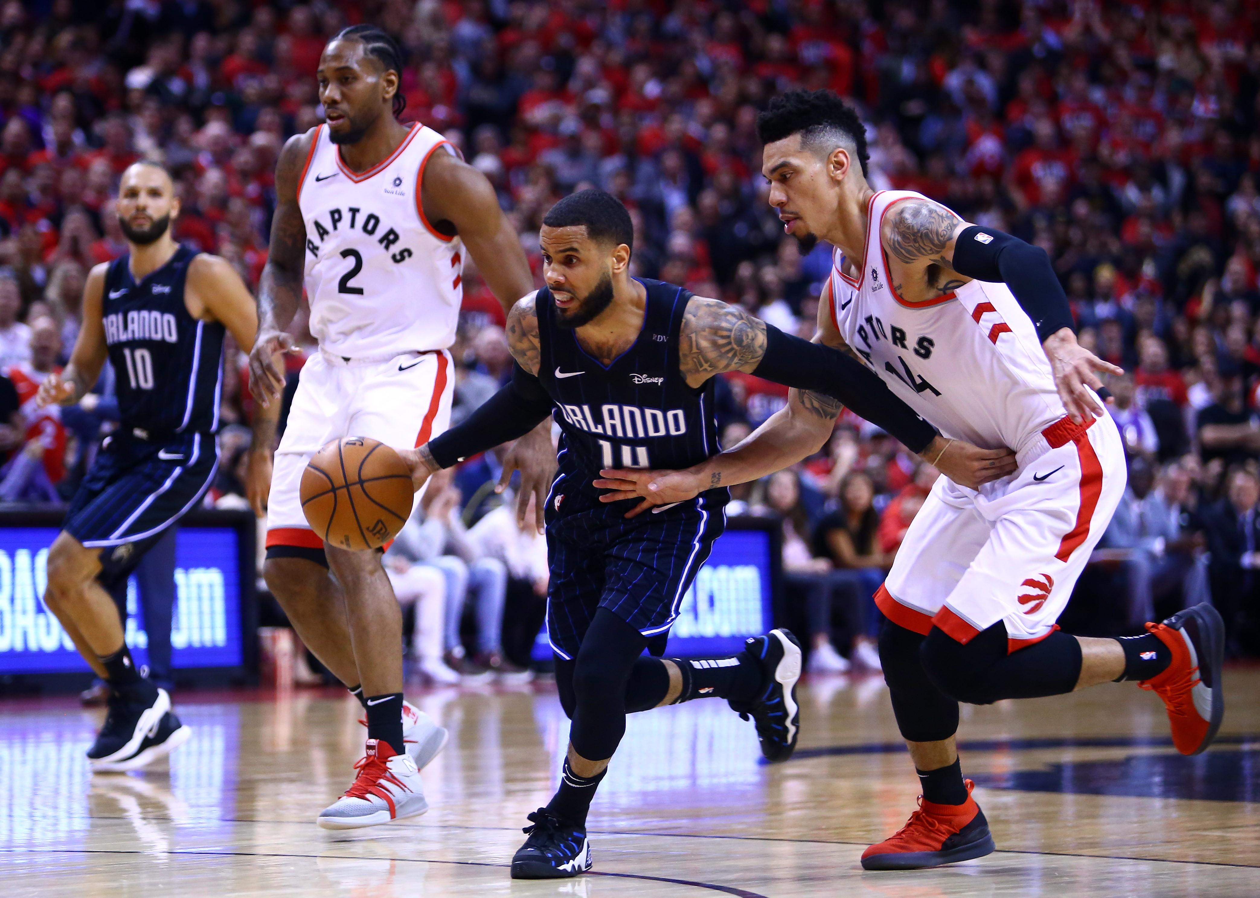 Augustin, Orlando Magic @ Toronto Raptors