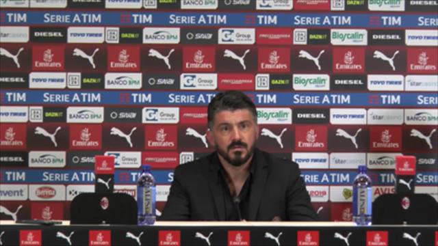 "Gattuso: ""Tragedie, preoccupazioni? Ne state parlando voi"""