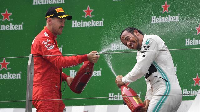 Hamilton leads Mercedes one-two in China in 1,000th F1 race