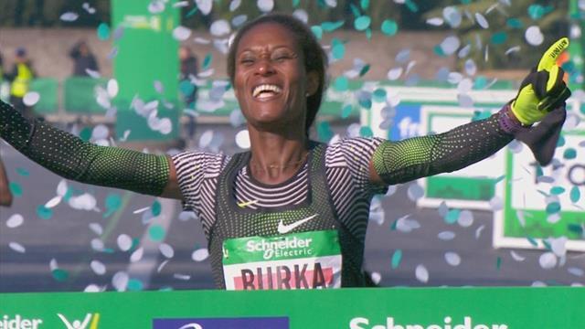 Gelete Burka wins Paris Marathon