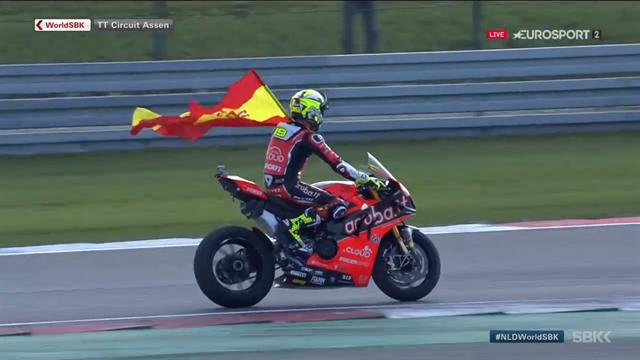 Superbikes | Bautista wint eerste race in Assen