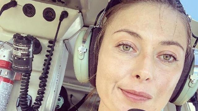 «Полет на вертолете, изучение пещеры». Шарапова насладилась отдыхом на Гавайях
