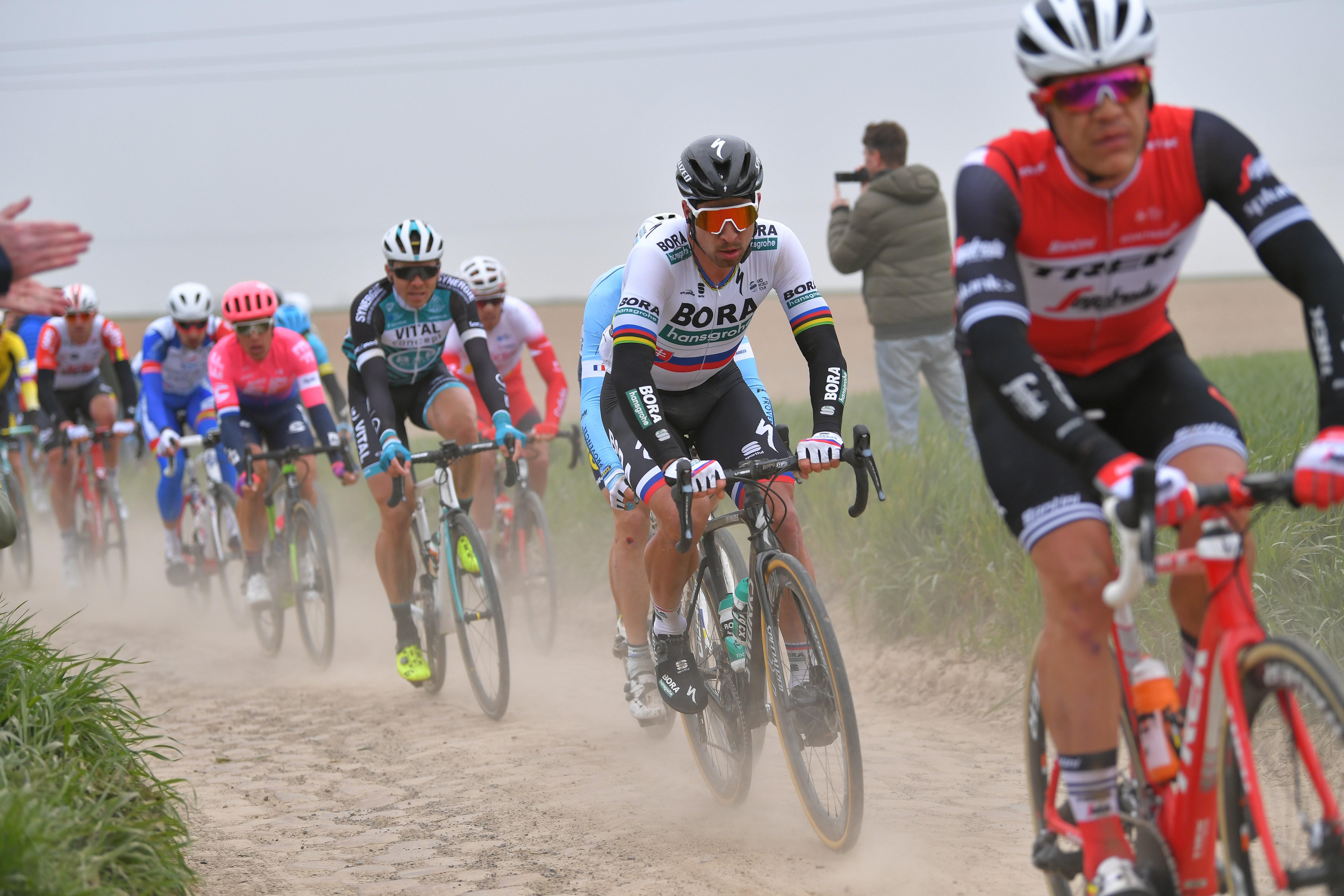 Peter Sagan (Bora-Hansgrohe) sur Paris-Roubaix 2019