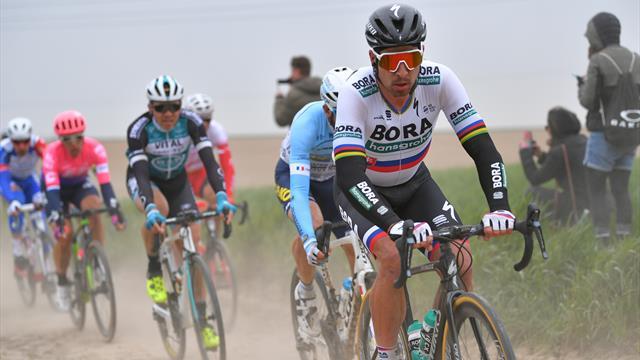 Le moment où Sagan a perdu la course : le Slovaque n'a pu suivre Gilbert et Politt