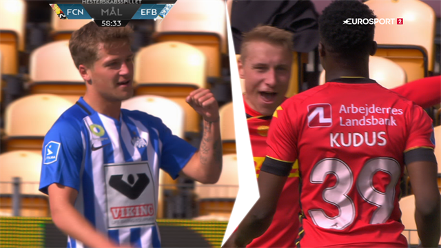 Highlights: Lejesvenden Holse sikrede Esbjerg alle tre point i Farum
