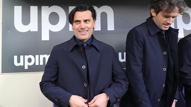 La Fiorentina conferma Montella in panchina: l'allenatore viola sarà ancora lui