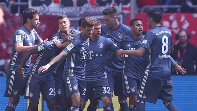 Un nouveau carton et le Bayern reprend son trône